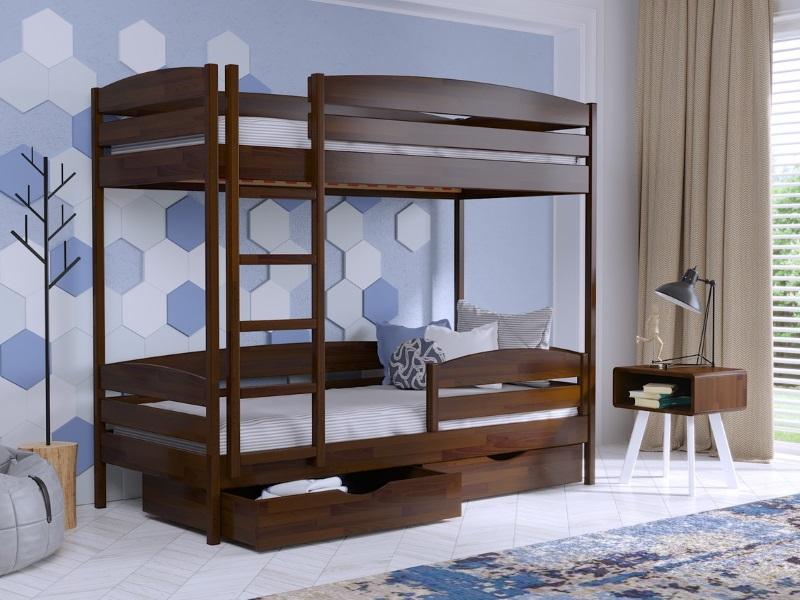 детская двухъярусная кровать дуэт эстелла